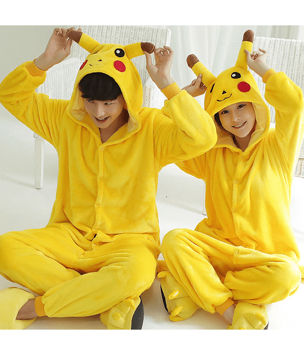 pijamas enteros, kigurumi pokemon